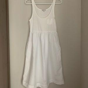 White Casual Tank Dress